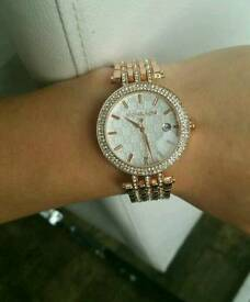 Michael kors rose gold or silver new watch