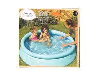 Swimming pool ring