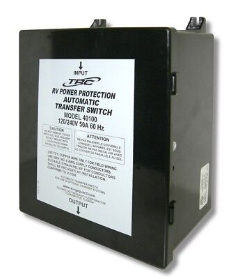 Surge Guard 40100 50 Amp 120240v Automatic Transfer Switch