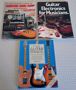 Guitar & Amp Repair & Maintenance Books ** GREAT DEAL **