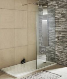 New shower glass screen from Victorian Plumbing