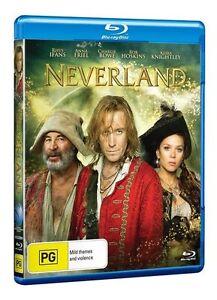 A3 BRAND NEW SEALED Neverland (Blu-ray, 2012) By Keira Knightley