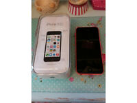 16 gb iPhone 5C, Pink, Excellent condition, EE network, can deliver