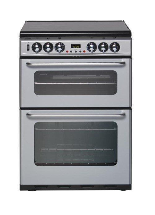 Brand NEW - New World Silver Duel Fuel Oven - Electric Grill/Oven & Gas Hobs - BARGAIN PRICE @ £185