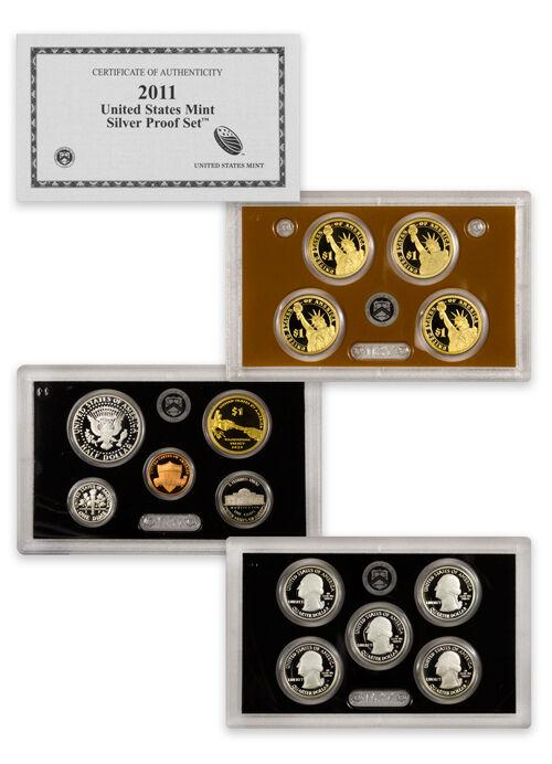 2011 US Mint Silver Proof Set
