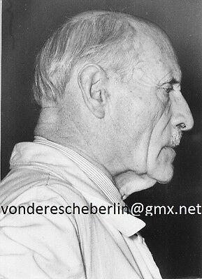 Werner ECKELT: Karl HOFER Letzte PréMortemAufnahme 1955 ( Direktor HDK BERLIN )