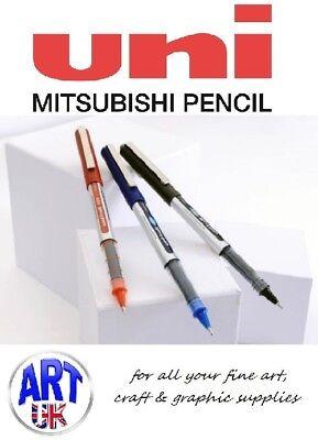Uni-ball Eye Micro Ub-150 Rollerball Pen 0.5mm Nib Super Ink Permanent Marker