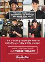 Be part of the team at Tim Hortons
