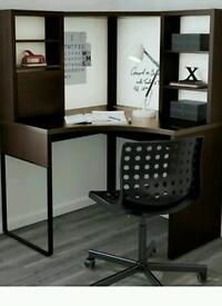 Corner workstation kids desk