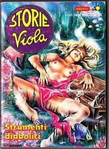 Details About Italian Erotic Horror Ic Storie Viola Strumenti