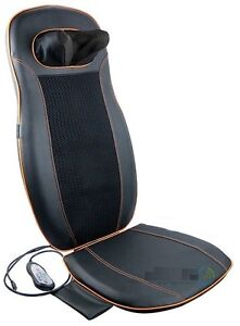Back and Neck Massage Chair Cushion / Shiatsu with heat