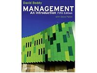 Management an Introduction, D. Boddy, 5th Edition