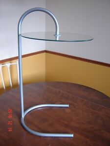 REDUCED Metal/glass occasional side table