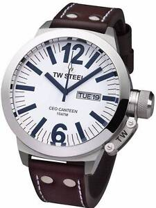 TW Steel CE1006 Brown Leather Watch Greenwich Lane Cove Area Preview