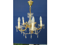 Cristal Glass Chanderlear in perfect condition