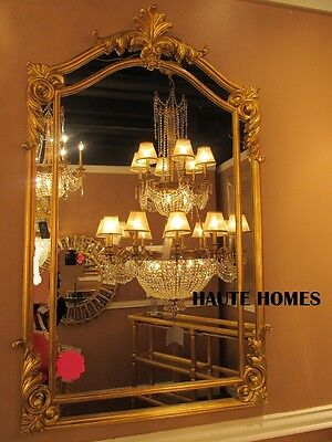 "NEW LARGE 48"" VICTORIAN ORNATE VENETIAN GOLD ARCH ACANTHUS VANITY WALL Mirror"