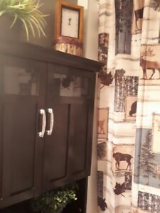 POTTERY BARN BATHROOM CABINET - QUICK MOVING SALE