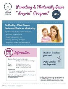 Parent and Baby Playgroup Friday Mornings in Langley!