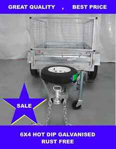 6x4 HOT DIP GALVANISED TRAILERS Dandenong South Greater Dandenong Preview