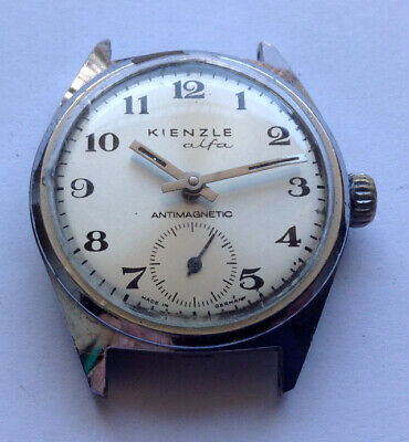 KIENZLE alfa 051 53 - Rare vintage GDR DDR Uhren , 60er Jahren, usado segunda mano  Embacar hacia Argentina