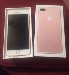 iPhone 7 rose gold 32gs