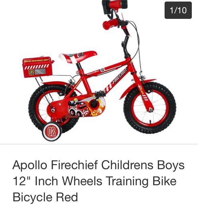 Kids bike hardly used