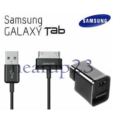 "USA Travel Wall Charger Cable for 7/8.9/10.1"" For Samsung Galaxy Tab 2 Tablet"