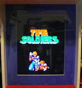 TIME SOLDIERS / EXTERMINATION - ARCADE VIDEO GAME