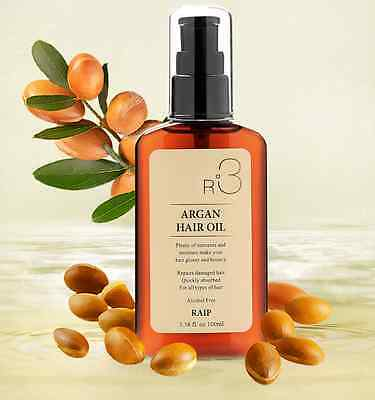 Raip R3 Argan oil for Hair Clinic System + Free Gift