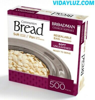 COMMUNION BREAD (SOFT) 500 PIECES