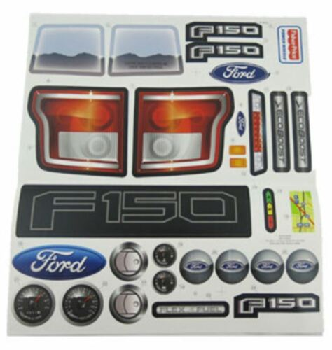 Power Wheels CDF53 Fisher Price Ford F150 Label Decal Sheet Genuine