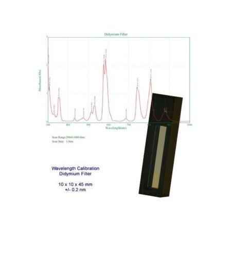 Azzota® DIDYMIUM OXIDE FILTER FOR SPECTROPHOTOMETER CALIBRATION