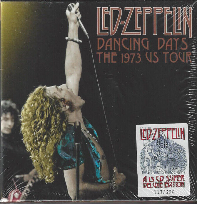 LED ZEPPELIN DANCING DAYS THE US TOUR 1973 - $160.00