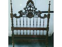 Antique Spanish Marriage bed