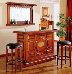 BARS AND BAR STOOLS, SHUFFLEBOARDS, POOLTABLES  MORE