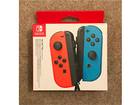 Nintendo switch joy con controller pair
