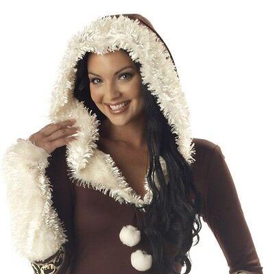 Eiszeit Kostüm Karneval Fasching Verkleidung Damen 36-50 (Eskimo Frau Kostüm)