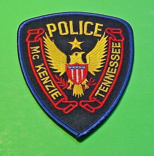 "Mc KENZIE TENNESSEE  TN  4 3/4""  POLICE PATCH  FREE SHIPPING!!!"