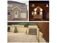 4 double bed semi detached house