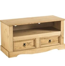 ***brand new solid pine TV unit***