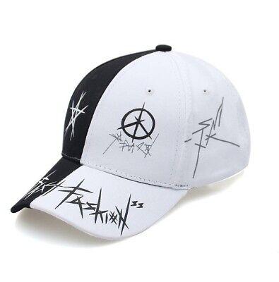 New Graffiti Baseball Cap Black and White Unisex Snapback Gorras Hat Cotton segunda mano  Embacar hacia Mexico
