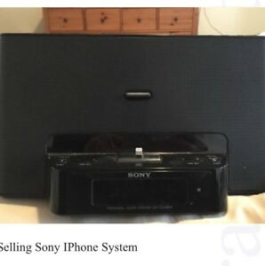 Sony IPhone Music System