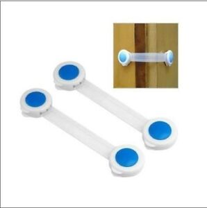 2Pcs-Baby-Child-Infant-Lock-Toddler-Kid-Safety-Safe-Cabinet-Fridge-Door-HQ