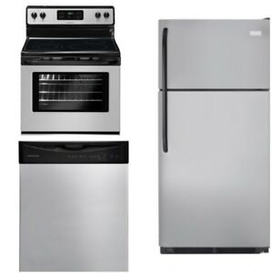 Frigidaire Silver Mist Appliance Package