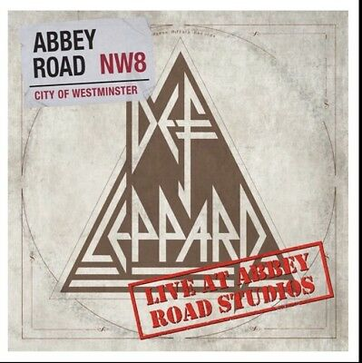 DEF LEPPARD LIVE AT ABBEY ROAD STUDIOS RSD 2018 Vinyl Ep New & Sealed Preorder