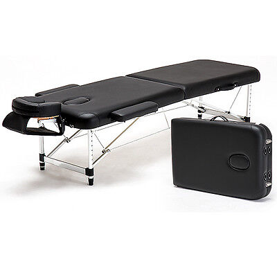 """Ultra Light Aluminum 84"""" Portable Massage Table Facial SPA Bed Tattoo Carry Case"""