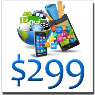 UNIQUE CUSTOM WEBSITE DESIGN $299