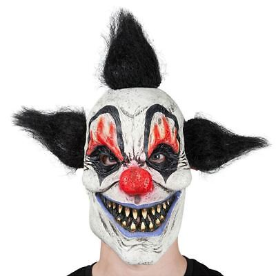 Adult Scary Horror Crazy Clown Killer Mask Fancy Dress Halloween Accessory ()