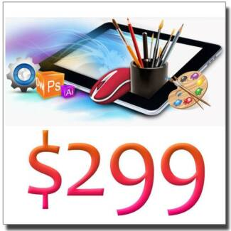 $299 SLEEK BUSINESS WEBSITE DESIGN Broadbeach Waters Gold Coast City Preview