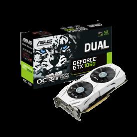 ASUS Dual Series GeForce GTX 1060 3GB